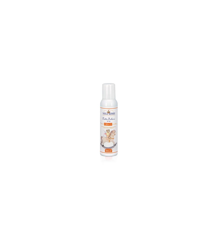 Spray latte solare protezione alta Sole bimbi