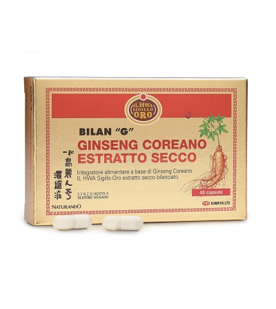 Bilan G estratto secco di Ginseng