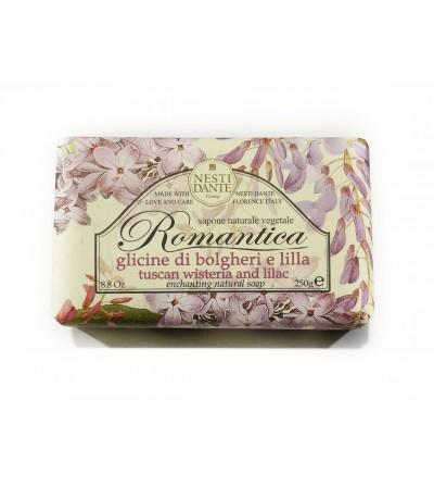 """Sapone Glicine di bolgheri e lilla """"ROMANTICA"""""""