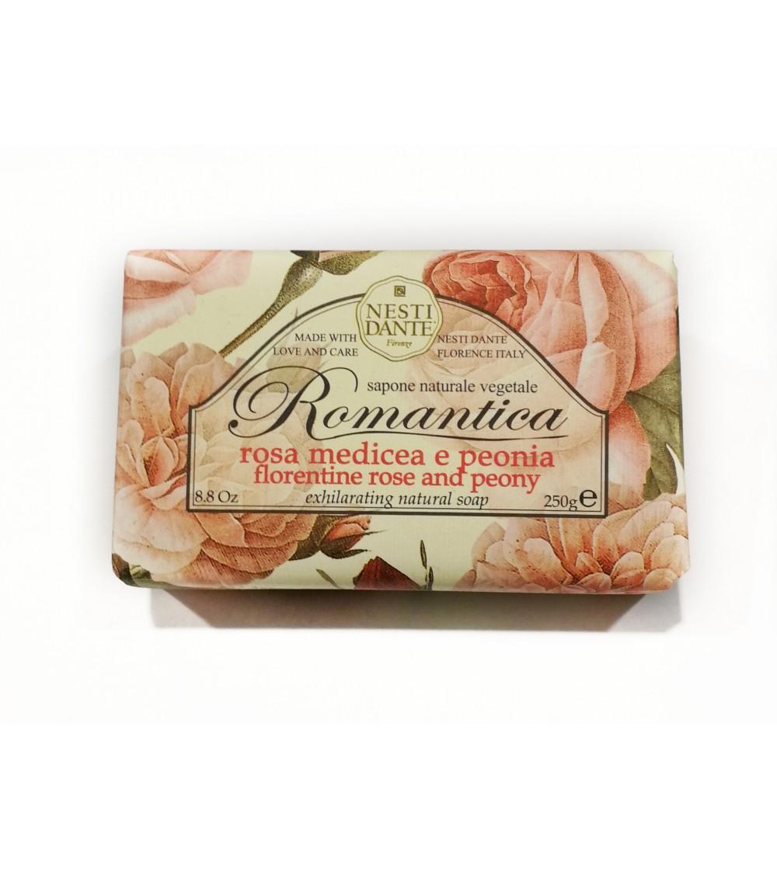 """Sapone Rosa medicea e peonia """"ROMANTICA"""""""