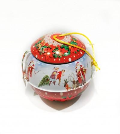 Pallina di Natale con infuso di Natale