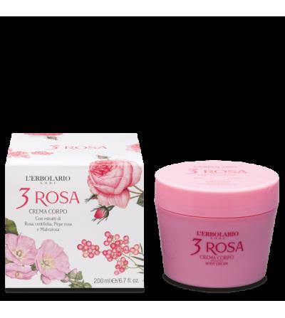 Crema corpo 3 Rosa L'erbolario