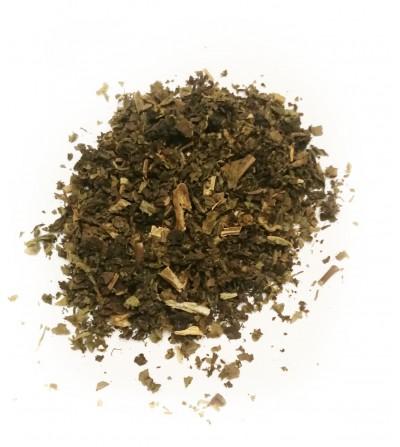 Patchouly, Pogostemon cablin foglie taglio tisana
