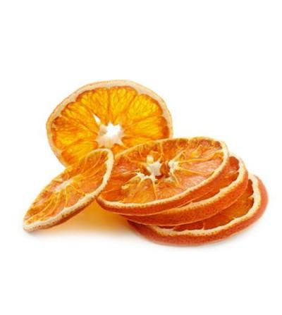 Arancia, Citrus aurantium disidratata a fette 500 grammi