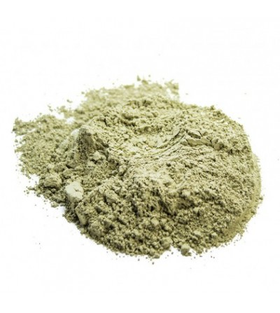 Argilla verde pastorizzata e debatterizzata