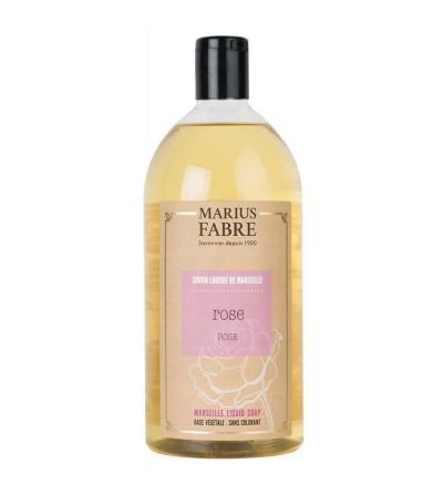 Sapone liquido di marsiglia rosa Marius Fabre