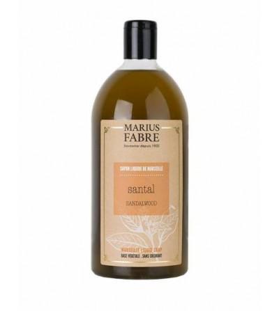 Sapone liquido di marsiglia sandalo Marius Fabre