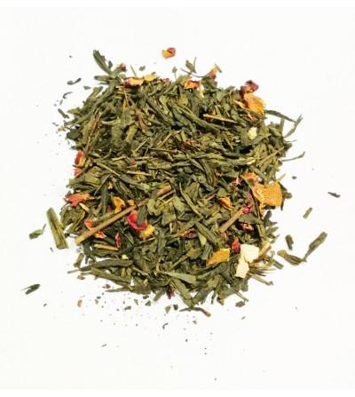 Tè verde bancha arancia e spezie